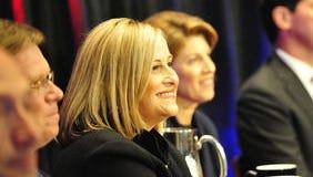 Megan Barry and Linda Eskind Rebrovick