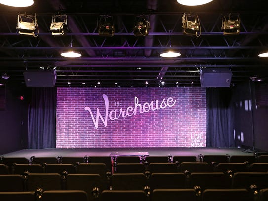 The Warehouse music venue in Carmel, Ind., Friday,