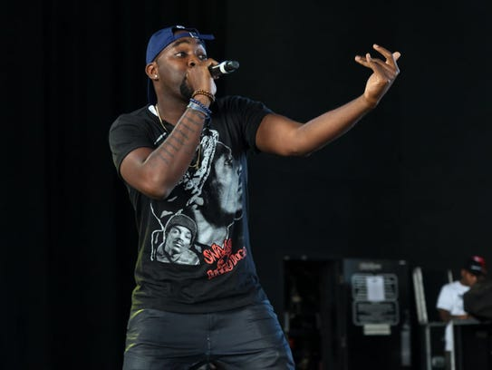 Jeezy at Freedom Hill Amphitheater in Sterling Heights