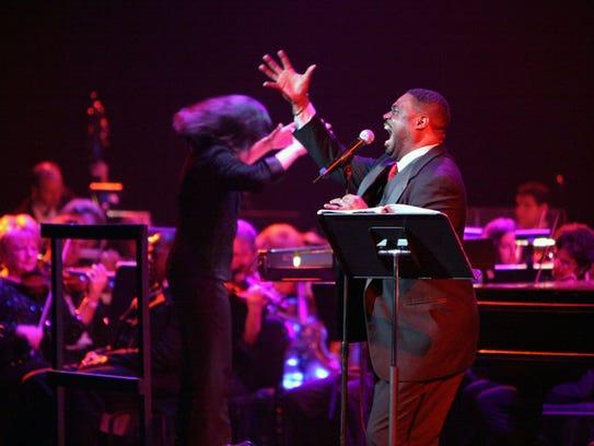 Tenor Rodrick Dixon and conductor Suzanne Mallare Acton