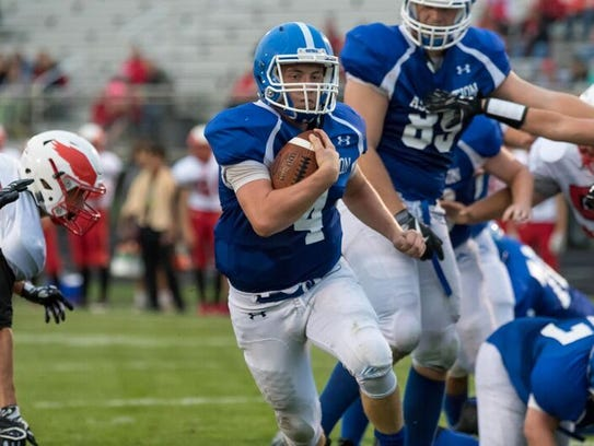 Four-year starting quarterback Jake Sullivan suffered