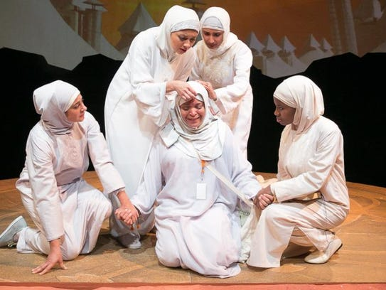 """A scene from Rohina Malik's """"Mecca Tales,"""" which will"""
