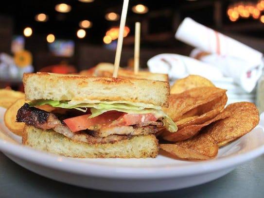 Bootleggers PBLT sandwich.