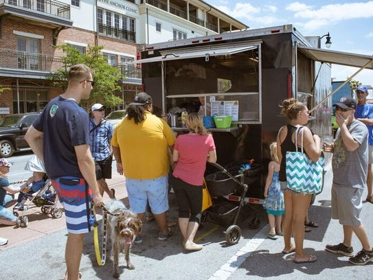 The 2017 Pensacola Hot Wheels Food Truck Festival takes