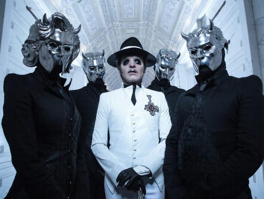 Mysterious metal band Ghost canceled its Riverside Theater show in progress Thursday after a fan collapsed at the start of intermission. CPR was issued and the fan was transported to a Milwaukee hospital. His name and condition were not immediately known.