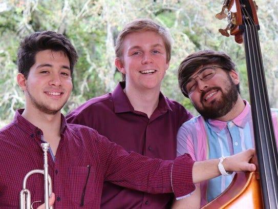 Jack, JC & Jianni perform at 8 p.m. Saturday at Black