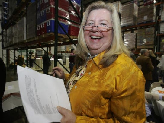 Patricia Beebe, president and CEO of the Food Bank