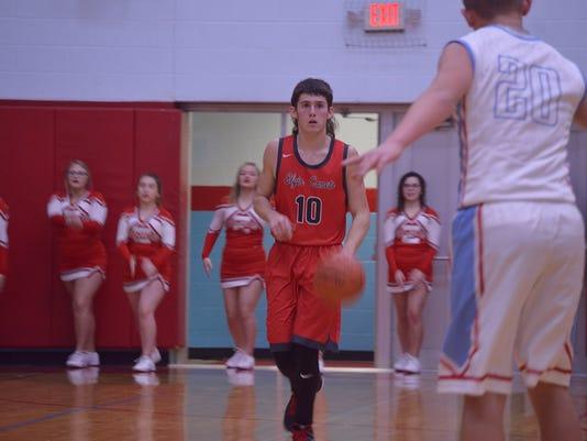 Elgin boys basketball Tyler Nichols