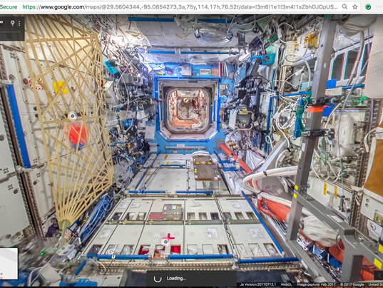 Google Street View Now Lets You Tour The International Space Station - Google maps street view us windows 10