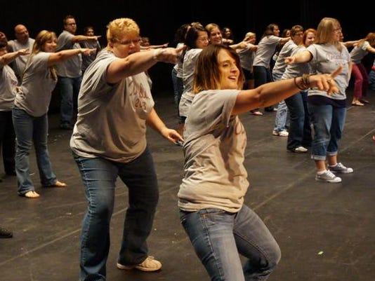 Greece Arcadia staff dance