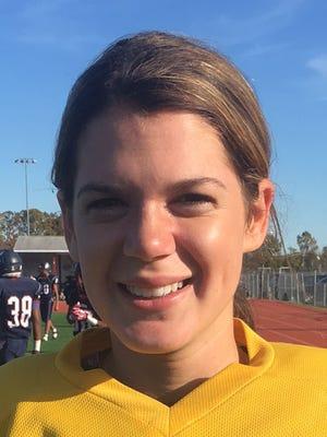 Cassie Kincaid, Eastern field hockey goalie