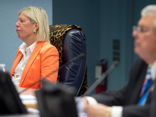 County Commissioner Sarah Heard (left) could face a criminal investigation for violations of public-records laws, according to court documents filed in September.