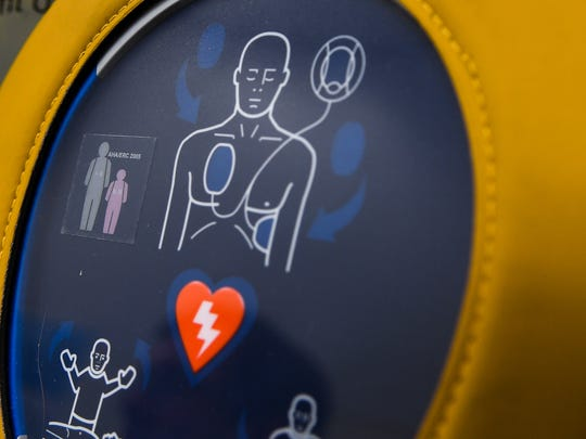 AED defibulators are in many institutions, and there