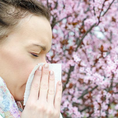 Allergies? Watch out for pollen today and Saturday