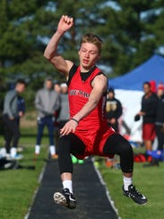 Bucyrus freshman Harley Robinson competes in the long