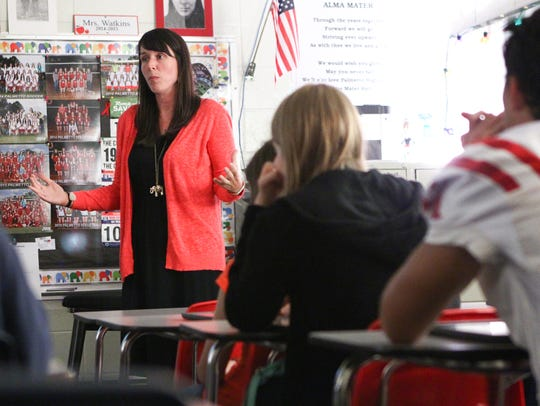 Palmetto High School AP U.S. History teacher Joanna