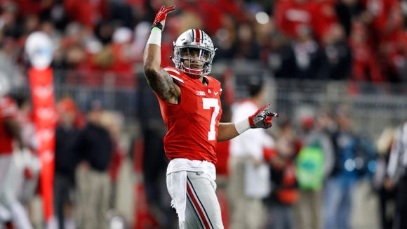 Ohio State's Jalin Marshall declared for the NFL on