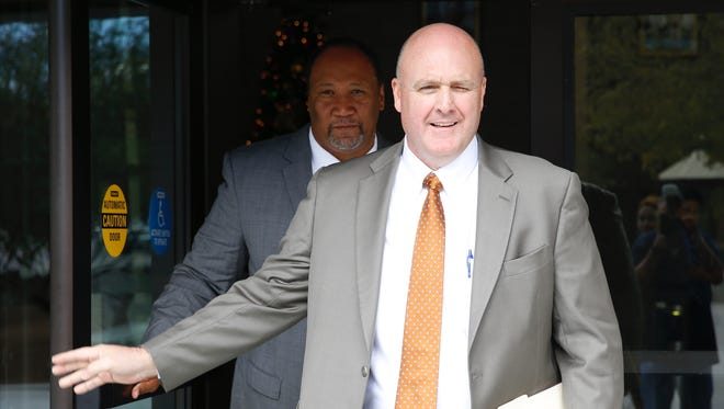 Former El Paso Associate Superintendent Damon Murphy on Tuesday admitted that he orchestrated a scheme to fraudulently boost test scores by denying students an education.