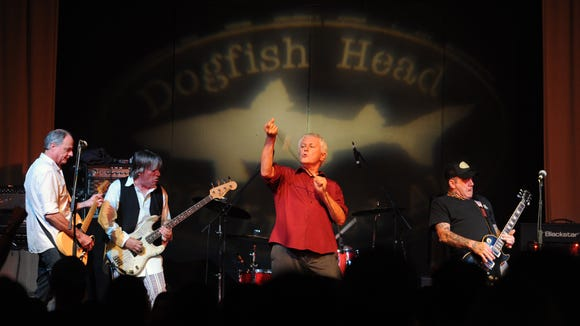 Guided by Voices perform at the Milton Theatre in August for a Dogfish  Head-sponsored show.