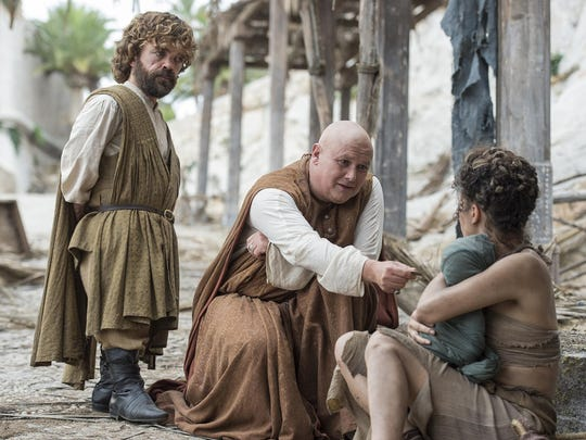 "Peter Dinklage, left, and Conleth Hill star in ""Game of Thrones."""
