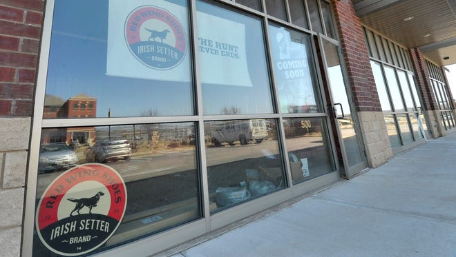 Red Wing Shoes store is coming into a vacant space along Stewart Avenue near Jimmy John's in Wausau.