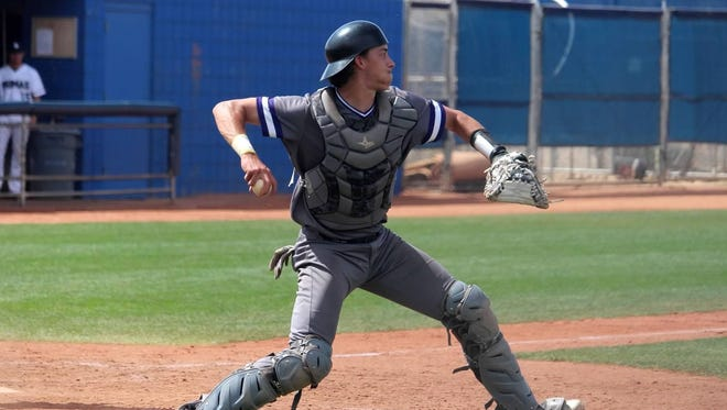 Former Green Bay East catcher Trent Bauer has signed a 10-day contract with the Green Bay Bullfrogs.