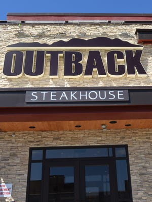 A new Outback Steakhouse is set to open Monday, Oct. 3, at the Dover Towne Center, site of the former Dover Walmart.