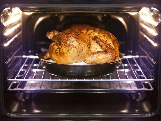 An overnight fresh slow-roasted turkey.