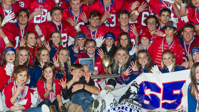 Jackson Prep celebrates its fourth straight state championship and 22nd overall after beating MRA in the AAAA-DI title game last Friday.