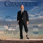 Cover of Grandeur magazine, January 2016.