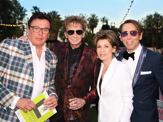 Garry Kief, Barry Manilow, Terri Ketover, and Kevin Bass.
