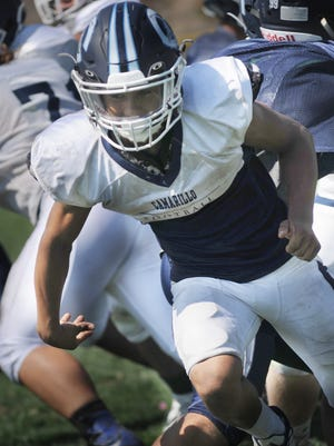 Jesse Valenzuela, who led Camarillo in rushing last season, is one of the many returning starters for the Scorpions.