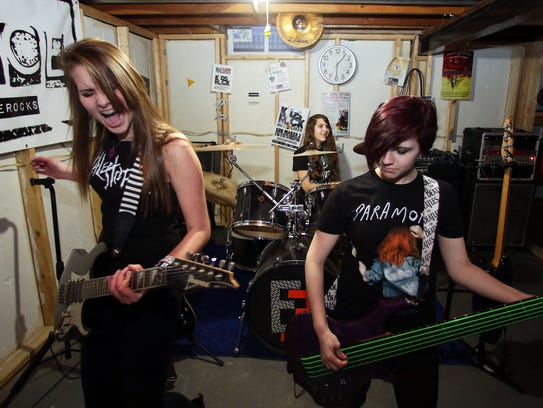 Eminence, an all-girl band from five Fox Valley high