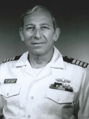 Captain Jack Boyland, the godfather and  uncle of Pam Sherman's husband, was proud to have served for decades.