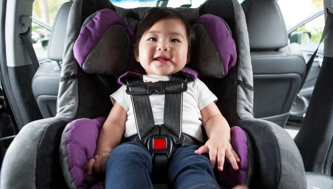 Car seats are often installed incorrectly. Local law enforcement can demonstrate proper installation of the seat, and make sure you are properly securing your child in the seat.