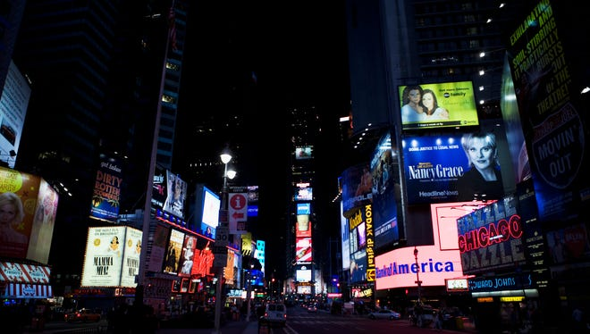 Outdoor billboards still account for a large portion of advertising spending. Digital boards that can project multiple messages now account for 17 percent of all billboards.