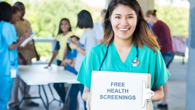 File Illustration Image - Free Health Screenings