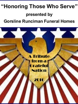 Gorsline Runciman Funeral Homes will honor veterans and first responders at a community event.