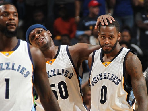 April 9, 2016 -  Memphis Grizzlies Lance Stephenson,