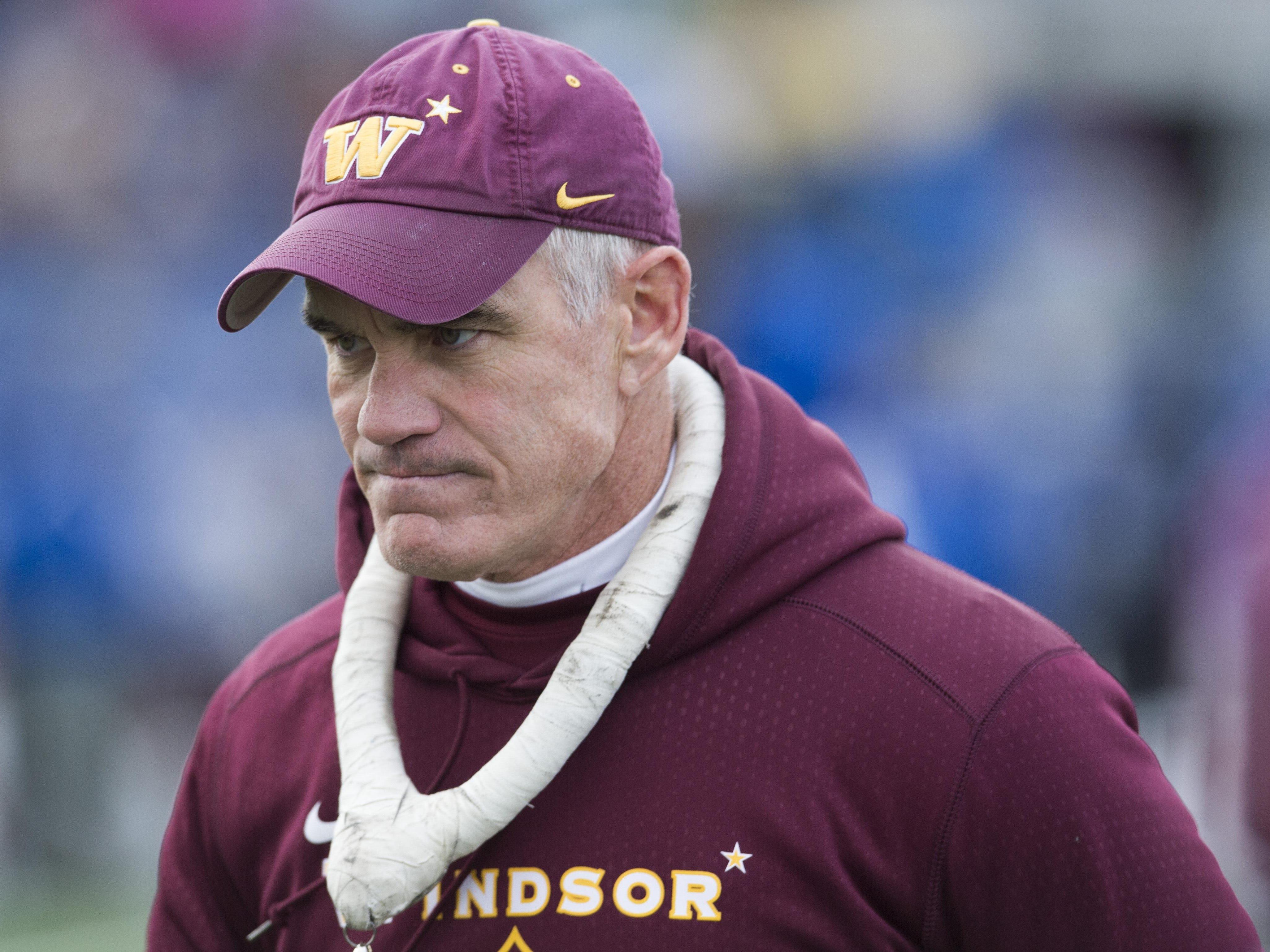 Chris Jones resigns as Windsor football coach
