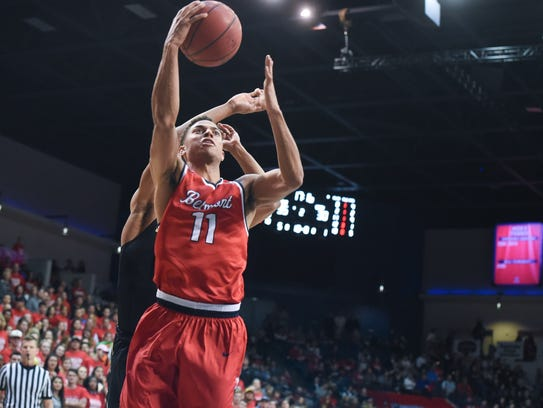 Sophomore Kevin McClain has helped Belmont win its