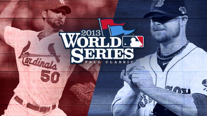 Adam Wainwright, left, and Jon Lester to start Game 1 of the World Series.