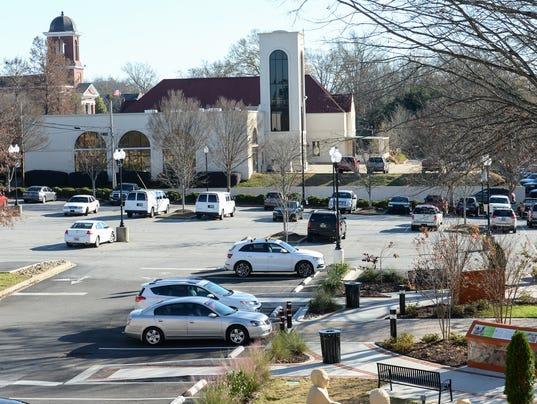 city parking lot for sale