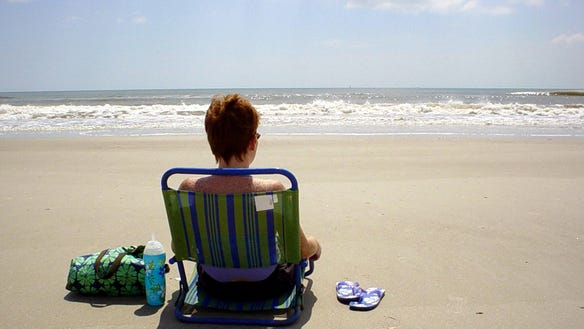 Florida Beaches Little Talbot Island_Beach_Lounger