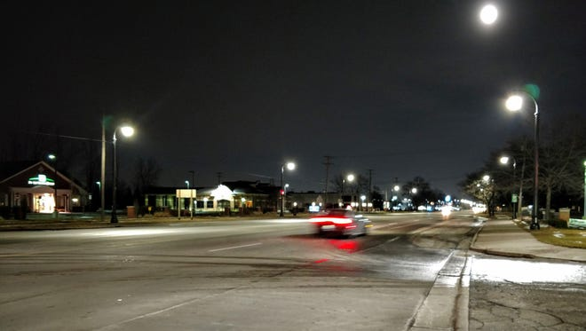 Plymouth Road could see new streetlights later this year.