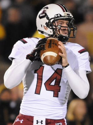 South Carolina quarterback Connor Shaw's work in relief helped rally the Gamecocks to a double-overtime win against previously unbeaten Missouri and keep them alive in the SEC East race.