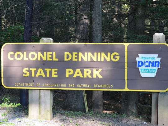 Colonel Denning State Park is a favorite retreat for