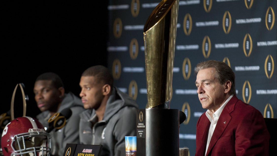 Saban says his draft eligible juniors made right decisions