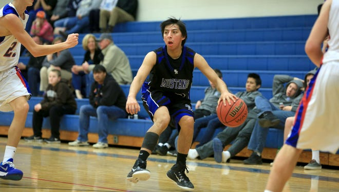 Jayce Wolfe and the Smoky Mountain boys basketball team is riding a 13-game winning streak.