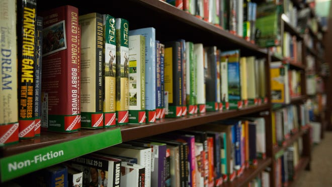 Books at Hastings in Las Cruces are half price June 29, 2016 as they have filed for bankruptcy and may be closing their doors soon.